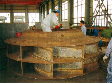 堆焊制作的叶片