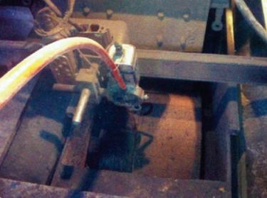 挤压辊现场堆焊