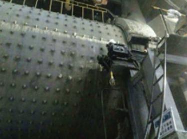 磨机滑铝磨损现场修复