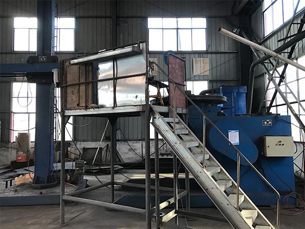 磨盘、衬板离线堆焊中心